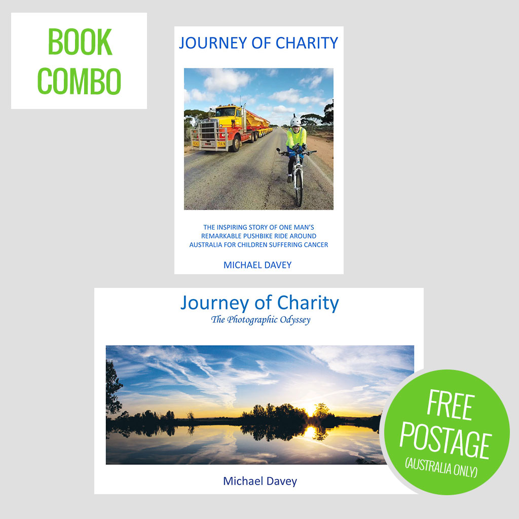 Journey Of Charity Book Combo Includes Three Free Greeting Cards